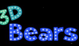 3d bears logo