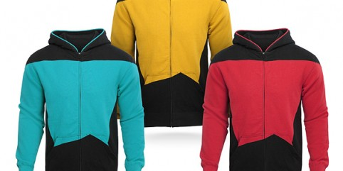 ThinkGeek's Star Trek: The Next Generation Uniform Hoodie Review