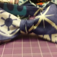 Glow In The Dark Light sabers Bow Tie