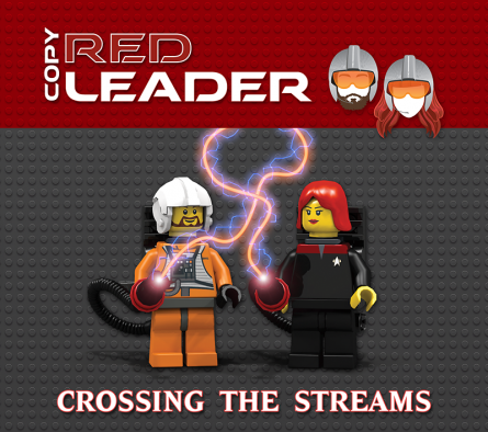 CRL - Crossing the Steams cover