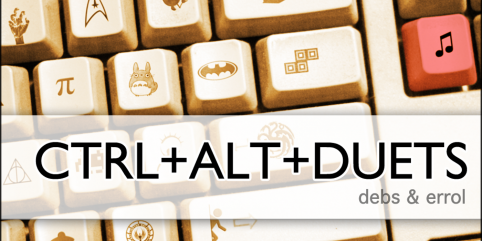 Win 1 of 4 Copies of Debs and Errol's Newest Album: CTRL+ALT+DUETS