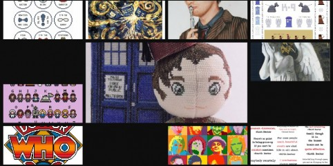 10 Amazing Cross-Stitch Patterns to Celebrate Doctor Who's 50th Anniversary