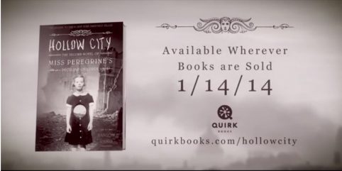Watch the Hollow City Book Trailer