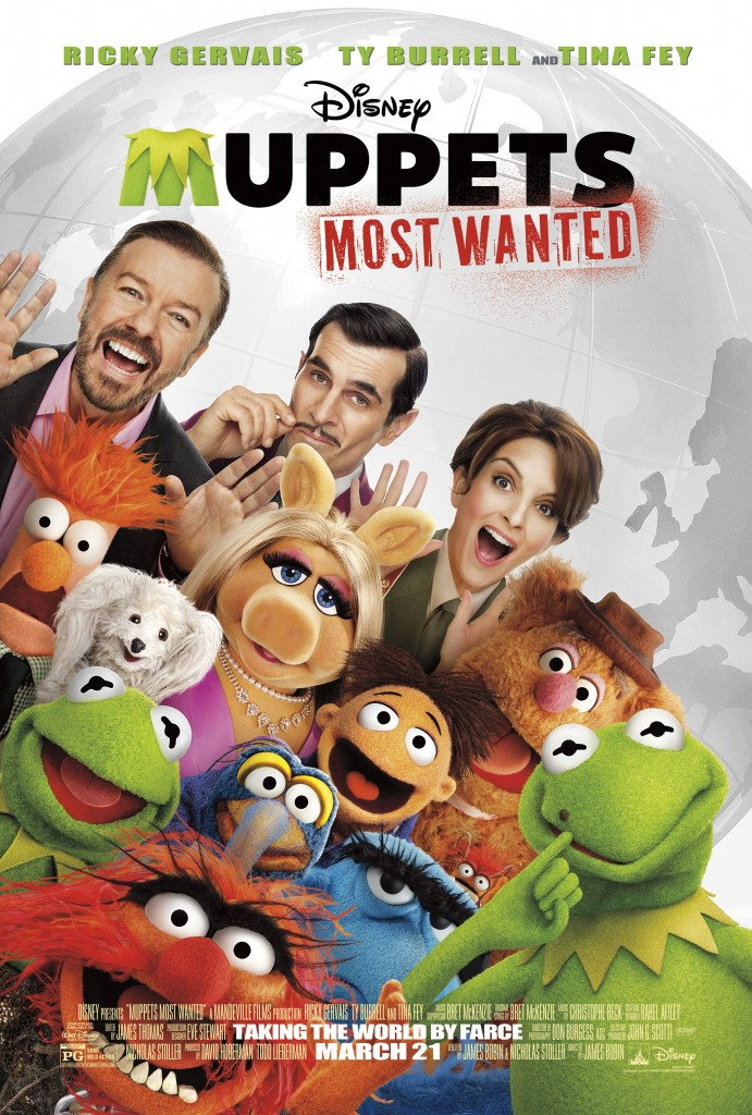 Muppets Most Wanted - English One-Sheet