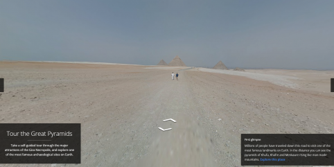 Explore The Great Pyramids Of Giza With Google Maps!