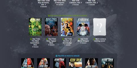 66 Star Trek Comics For a Minimum of $15 at Humble Bundle