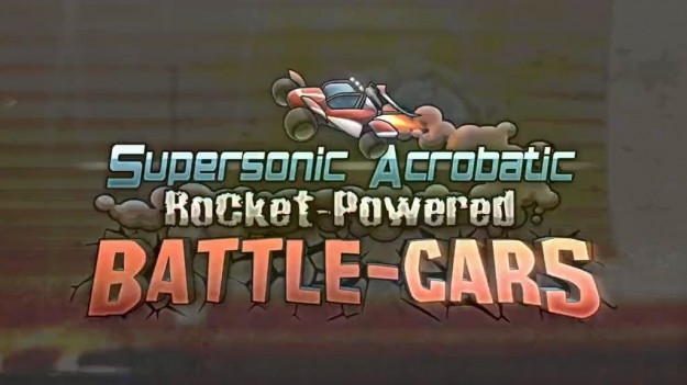 Supersonic Acrobatic Rocket-Powered Battle-Cars logo