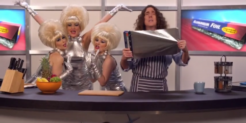 """Weird Al"" Yankovic Does It Again With ""Foil"""