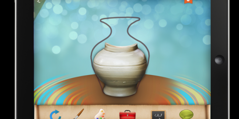 Kickstart PotteryPrint: A Creative New iPad App For Kids