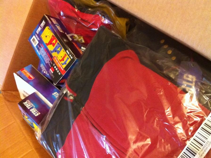 star trek box of goodies